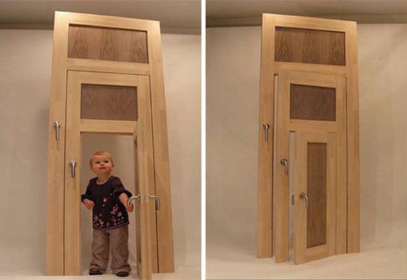 Naujausias 3-ų durų 1-ame išradimas