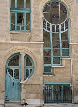 Įspūdingos stiklo menininko durys