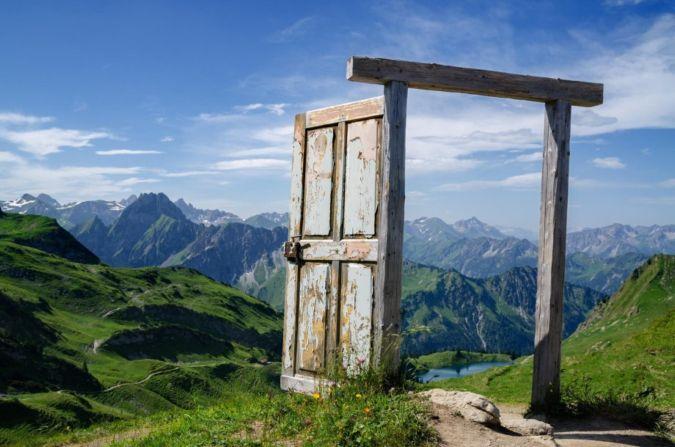 Lauko durys pagal Feng Shui