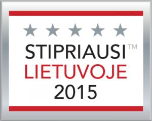Stipriausi Lietuvoje 2015