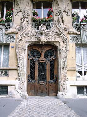 Paryžiaus brangakmenis- Jules Levirotte durys