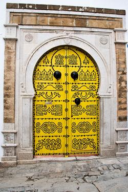 Tunisas- spalvotų durų pasaulis