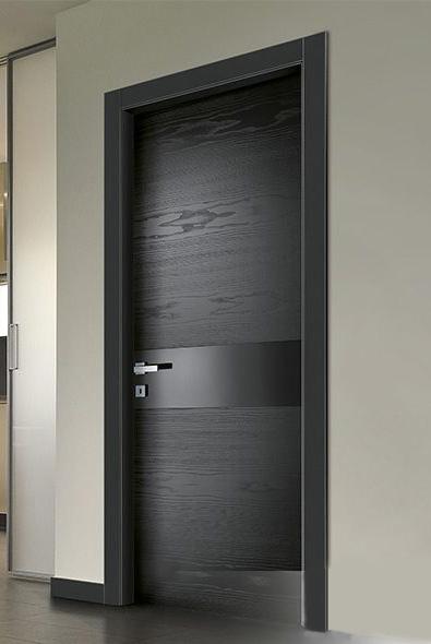 Faneruotos - dažytos vidaus durys